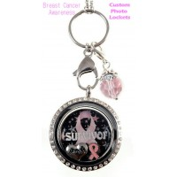 Breast Cancer Awareness Locket