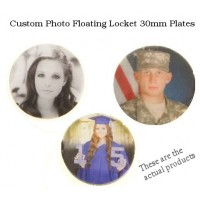 Floating Locket Photo Plates